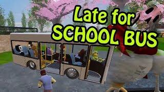 HELLO NEIGHBOR | Neighbor Late for SCHOOL BUS