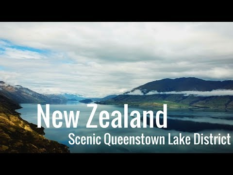 New Zealand DJI Mavic Pro Queenstown Lake District