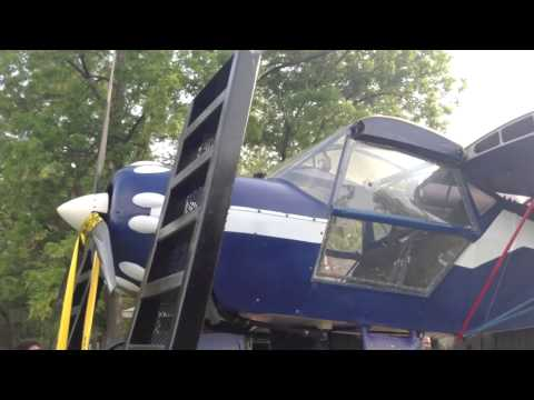 how to ship an airplane this case a kitfox
