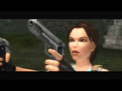Let's Play Tomb Raider vs Anniversary Part 8 - Jurassic Park Is Frightening In The Dark