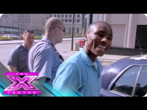 Contestant Deangelo Wallace Gets Arrested in Kansas City  THE X FACTOR USA 2012