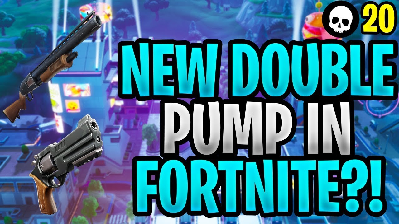 Ist das Combo die neue Doppelpumpe in Fortnite?!?! (Fortnite Shotgun Revolver Tips) + video
