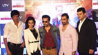 Emraan Hashmi, Humaima Malik At Trailer Launch Of Movie Raja Natwarlal