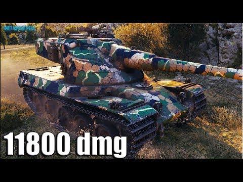 Лучший Колобанов на AMX 50 B ✅ World of Tanks карта Монастырь