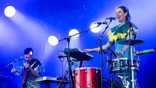 Tune-Yards - Water Fountain at Glastonbury 2014