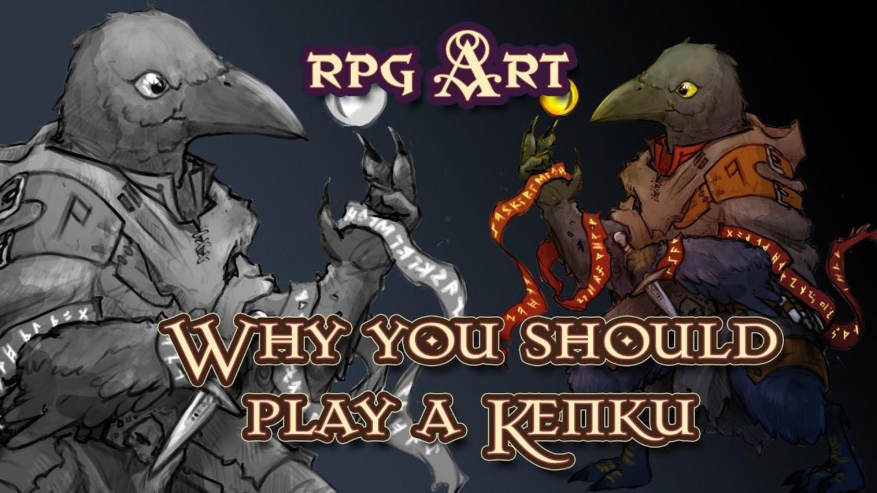 Why you should Play A Kenku Tengu - Kiri Critical role fan