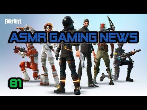 ASMR Gaming News (81) Fortnite Update, Burnout Paradise, Sonic Movie, Mario Odyssey, Nintendo Switch