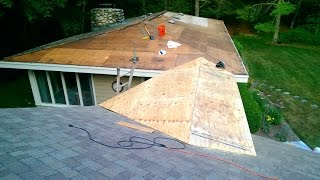 #410 Roof project Day 4