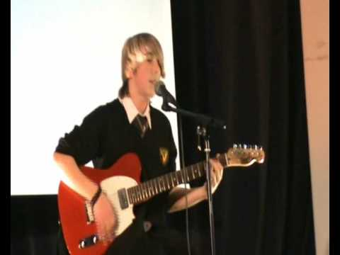 Warwick W Factor Wonderwall Cover by Casey