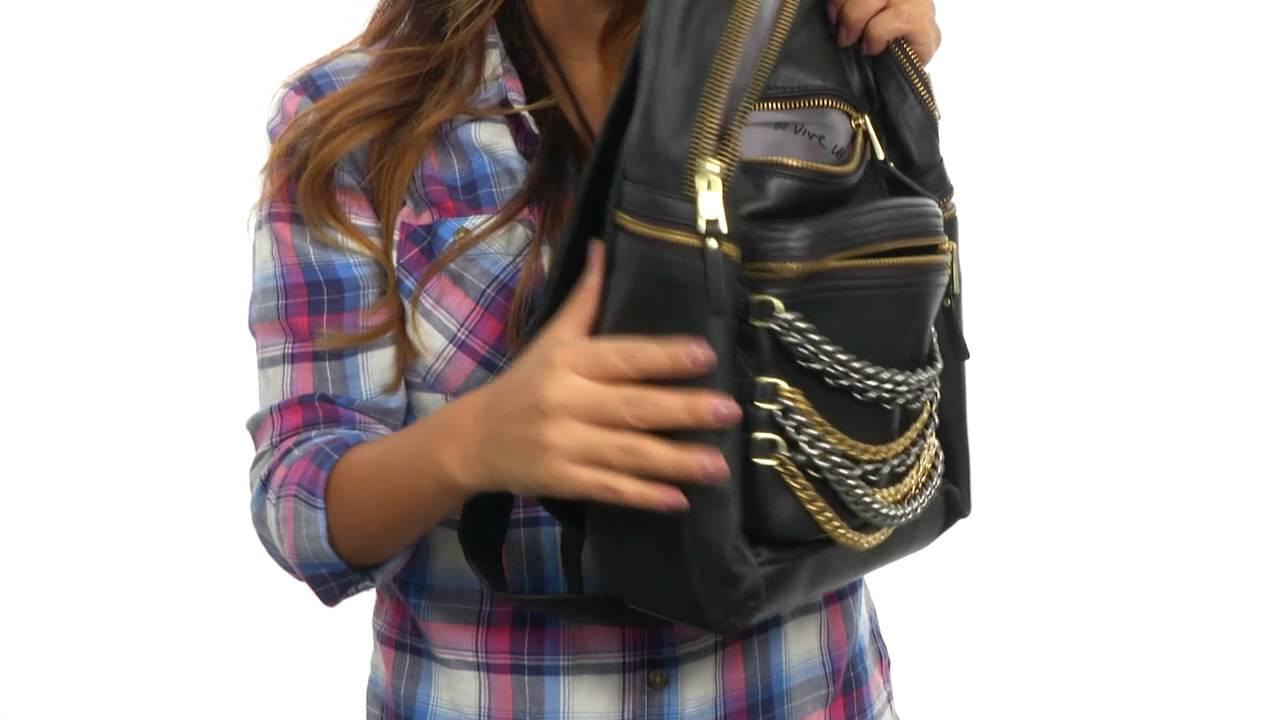 ASH Domino Chain- Small Backpack SKU 8533390 - YouTube fb8eb9fad3ac1
