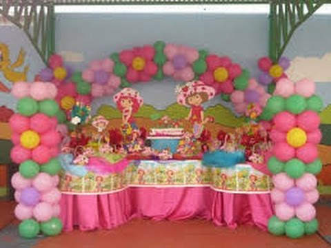 Decoraci n con globos para fiestas infantiles youtube for Decoracion con plantas para fiestas
