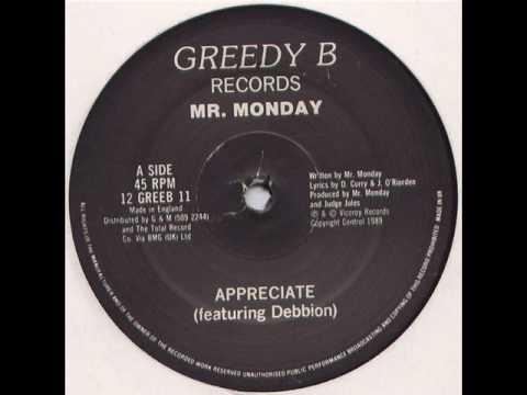 Mr. Monday - Appreciate