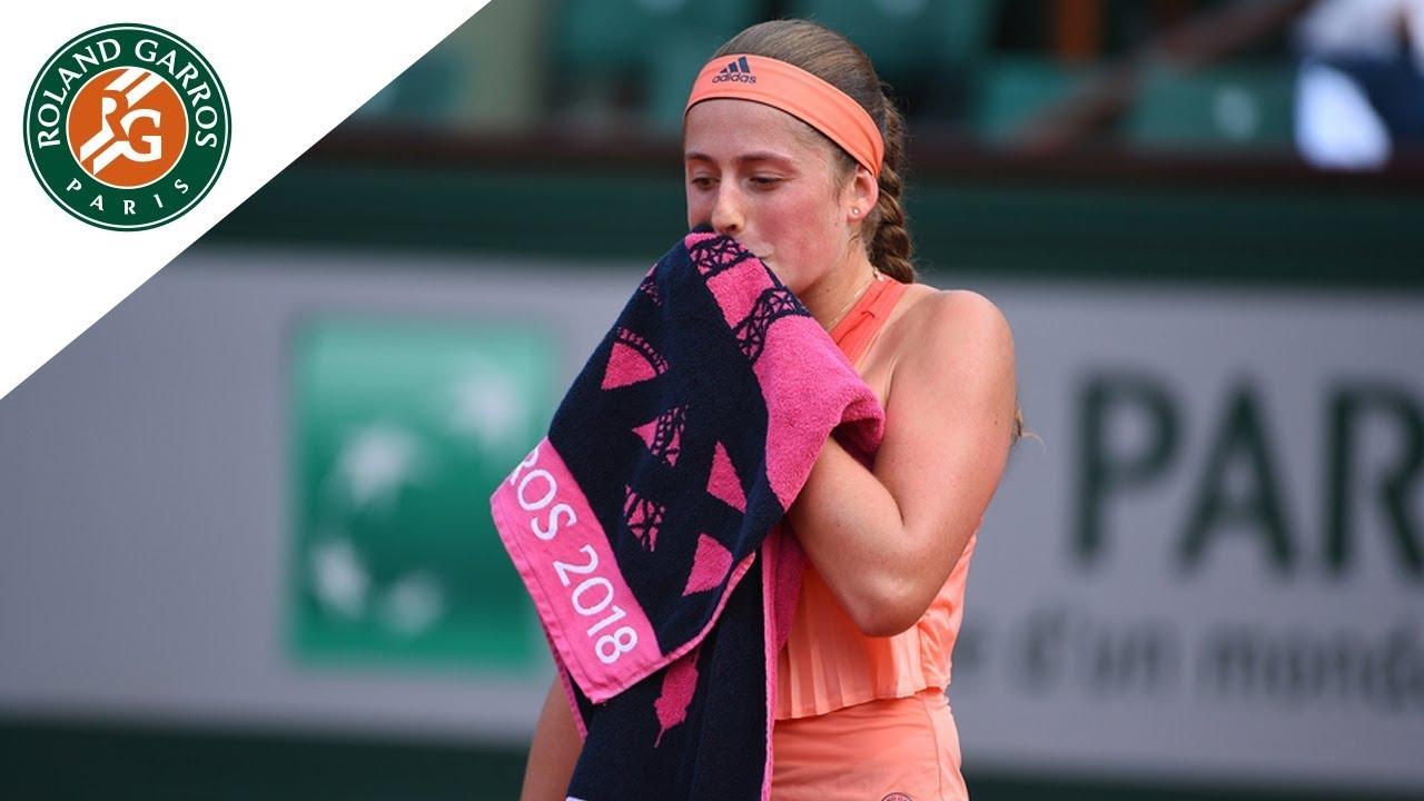 imagen Abreviatura Dormitorio  Jelena Ostapenko vs Kateryna Kozlova - Round 1 Highlights   Roland-Garros  2018 - YouTube