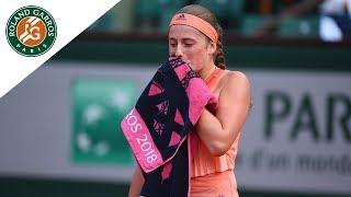 Jelena Ostapenko vs Kateryna Kozlova - Round 1 Highlights | Roland-Garros 2018