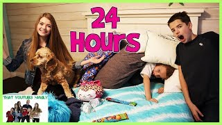 24 HOURS iN AUDREYS ROOM / That YouTub3 Family