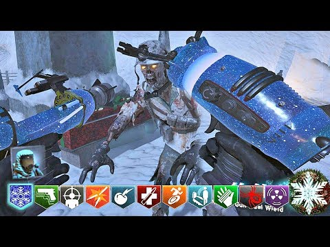 BLACK OPS 3 CUSTOM ZOMBIES MOD TOOLS! | FROSTBITE CUSTOM CHRISTMAS MAP WITH CUSTOM WEAPONS!