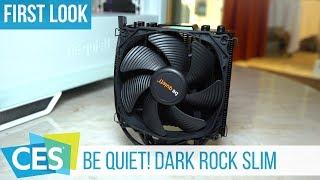 be quiet! Dark Rock Slim Hands-On: kleiner Bruder des Dark Rock 4 #CES2019