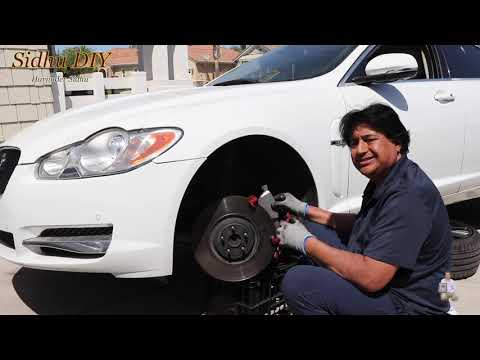 How To Install Front Brake Pads on Jaguar XF Supercharged