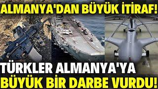 ALMANYA'DAN BÜYÜK İTİRAF..!! TÜRKLER ALMANYA'YA BÜYÜK DARBE VURDU..!! / SAVUNMA SANAYİ