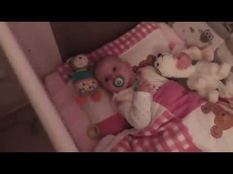 Baby schlafen legen   Unsere Nachtroutine