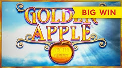 Golden Apple Slot - BIG WIN, NICE RETRIGGER!