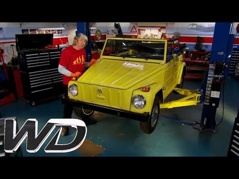 Replacing The Drum Brakes On A VW Thing | Wheeler Dealers