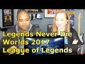 Legends Never Die Ft Against The Current Worlds 2017 League Of Legends REACTION mp3