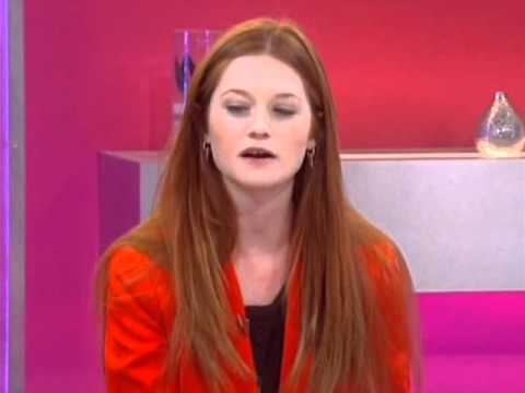 Bonnie Wright  on Loose Women