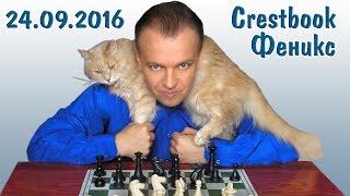 Сергей Шипов играет в блиц! Турнир Crestbook/КС + Феникс 24.09.2016