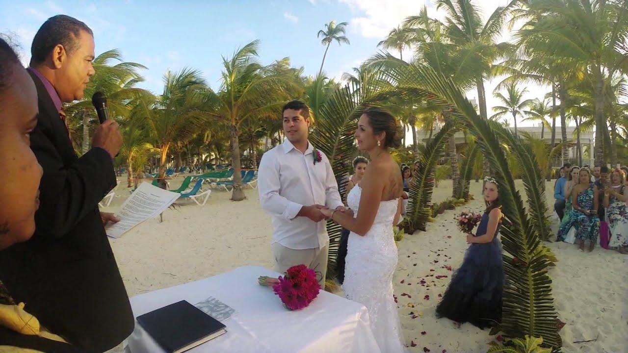 Casamento Marcelle E Eduardo Punta Cana 10 03 14 Riu Palace You