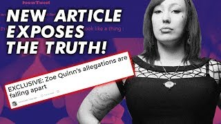 Zoe Quinn EXPOSED for Lying About Alec Holowka Accusations | The Rewired Soul