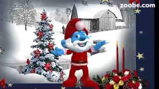 Heute ist weihnachten heiligabend zoobe animation lustig schlumpf viyoutube - Schlumpf weihnachten ...