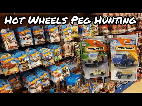 Hot Wheels Peg Huting - Toys R Us, Matchbox AND MORE!