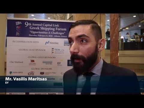 2018 9th Annual Greek Shipping Forum - Vasilis Maritsas Interview