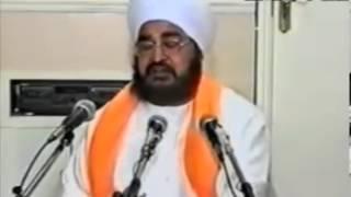Sant Baba Sukhdev Singh Ji and Jathedar Sant Baba Kashmira Singh Ji - Alhora Sahib Wale