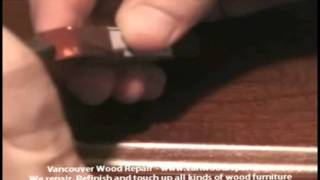 How to Repair a Gouge on a Table Top