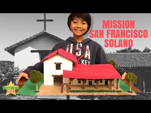 School Project - Building Mission San Francisco Solano