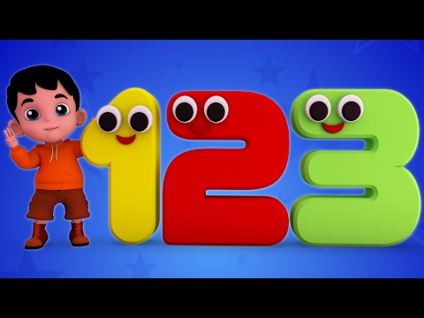 Junior Squad Kids Nursery Rhymes - Numbers Song Learn Numbers Counting Song Jr.Squad S01EP08