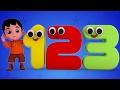 Junior Squad | Kids Nursery Rhymes - Numbers Song | Learn Numbers | Counting Song | Jr.Squad Kids Tv - JugniTV