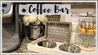 COFFEE BAR || DECOR and ORGANIZATION