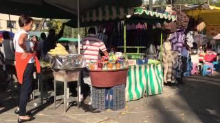 Mexico City Cart Food