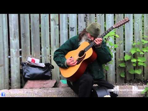 Homeless Man Plays