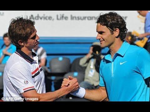Federer vs Andreev ● AO 2010 R1 HD 50fps Highlights