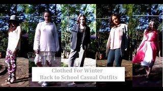 Back to School Casual Looks: College/Uni and Tafe Edition II Clothed For Winter Thumbnail