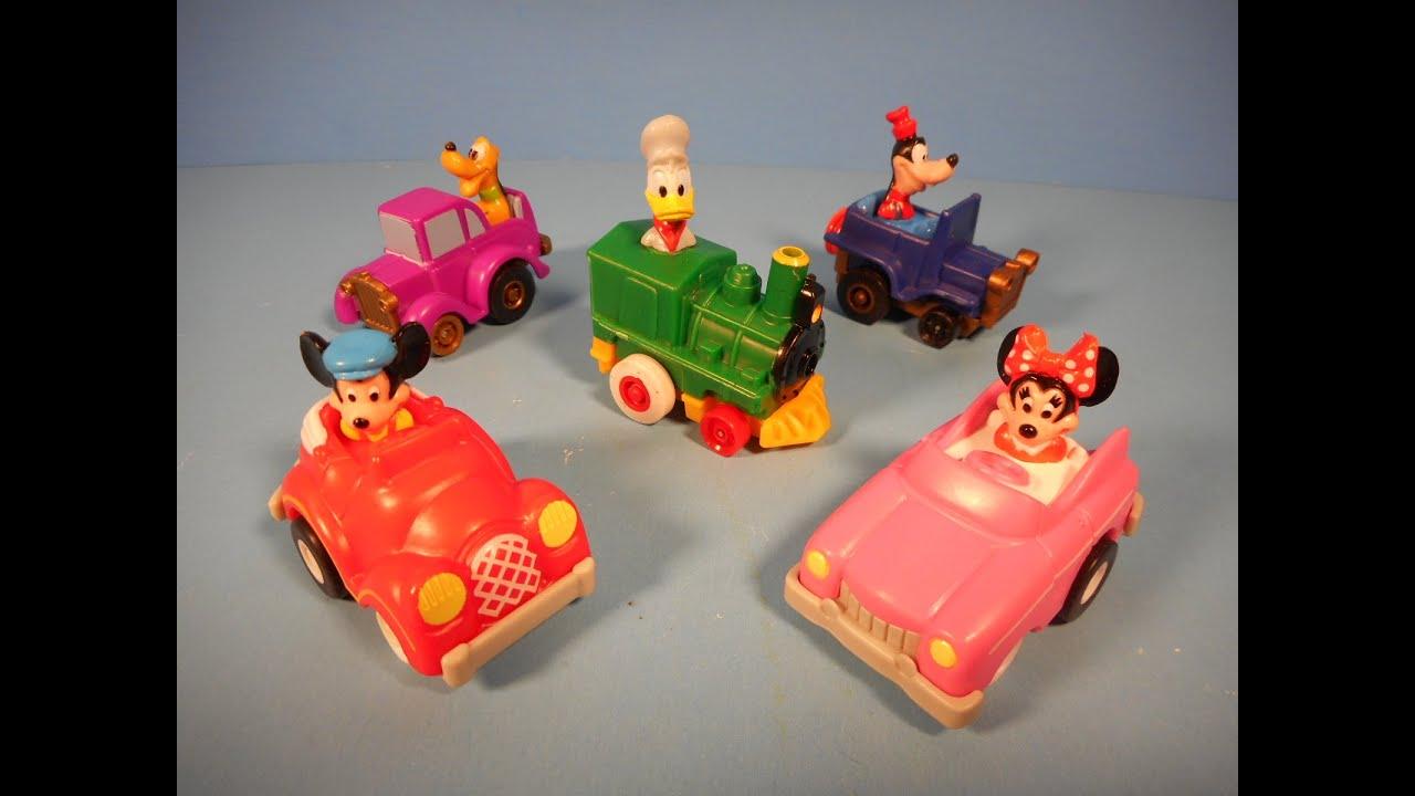 1988 Mickey S Birthdayland Walt Disney World Set Of 5