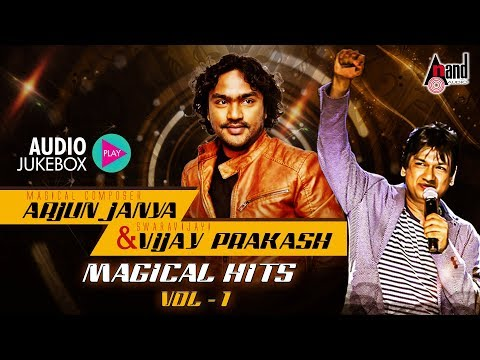 Arjun Janya & Vijay Prakash Magical Hits -01 | New Kannada Audio Jukebox 2018 |