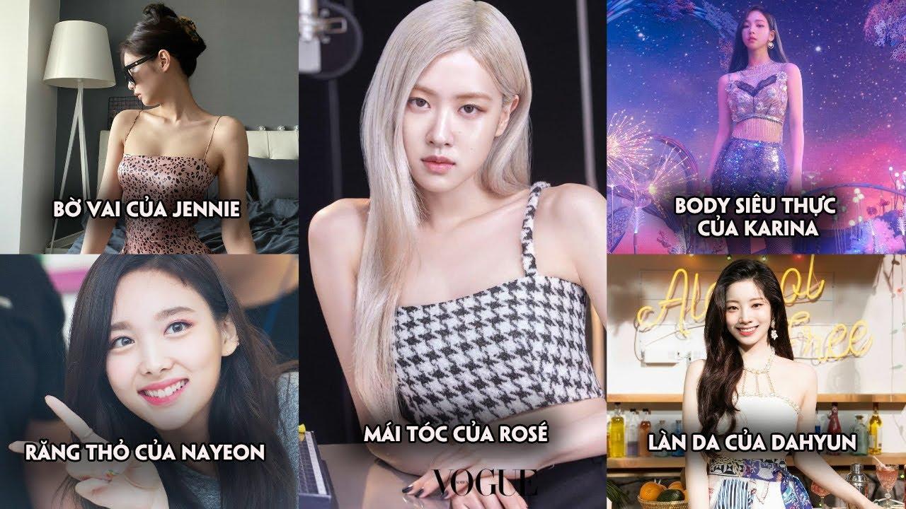 Những đặc điểm cơ thể nổi bật tạo nên thương hiệu riêng cho idol