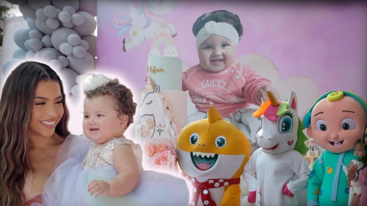 BABY EHLANI'S 1ST BIRTHDAY PARTY!