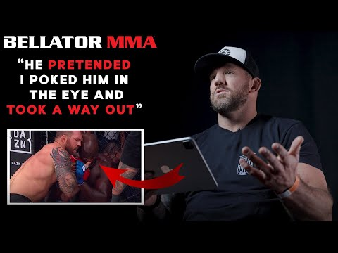 Ryan Bader Reacts to Kongo Fight Ending and More! | Bellator MMA