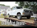 1971 F100 Donor Truck Craigslist Rescue Introduction!